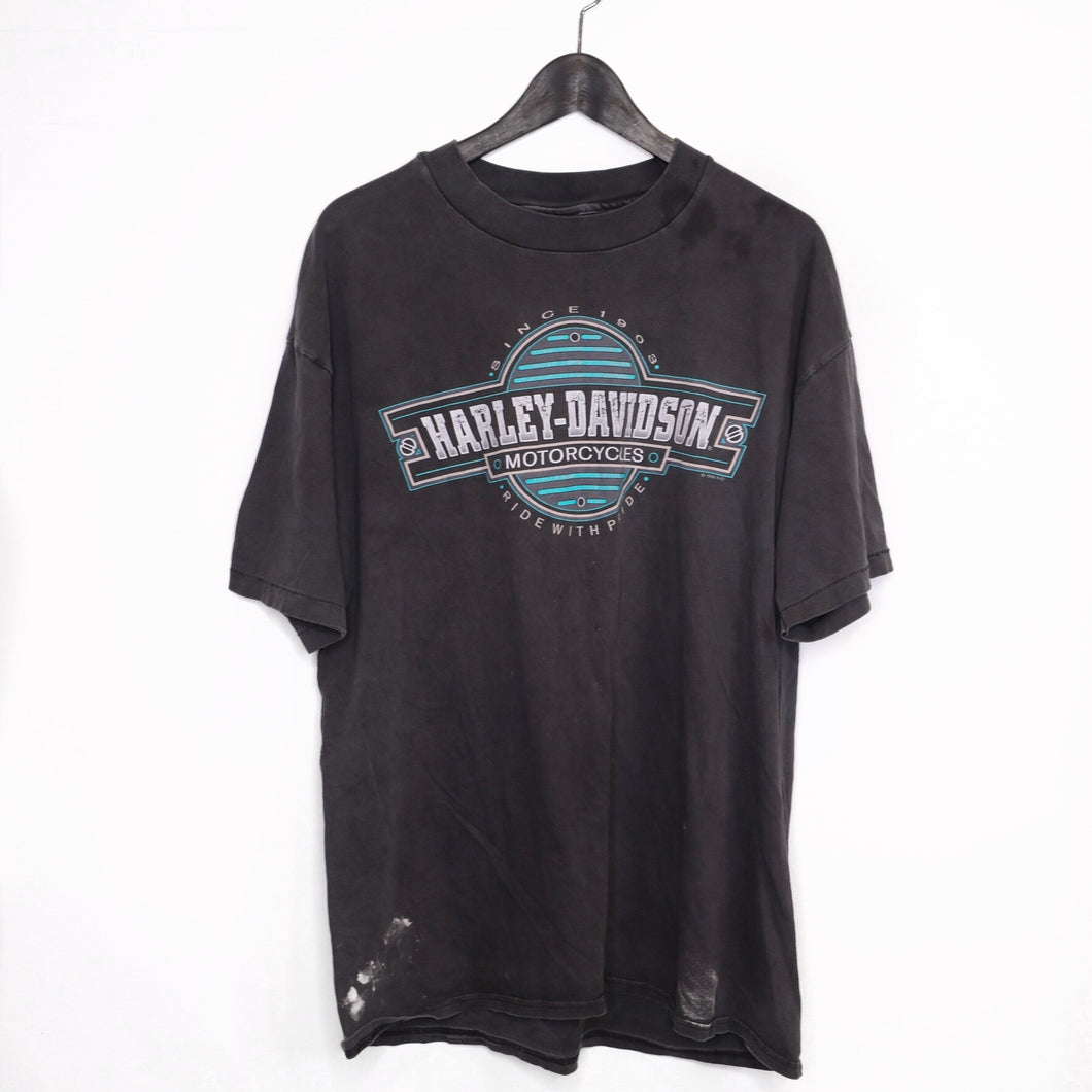 1996 Harley 'Ride with pride' tee