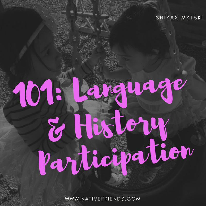 101: Language & History Participation