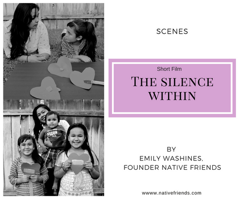 The Silence Within, a short film. Scenes with kids