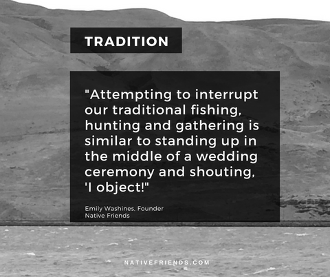 "Tradition Quote from blog ""Tradition: Once Upon a Time on Native Land"""