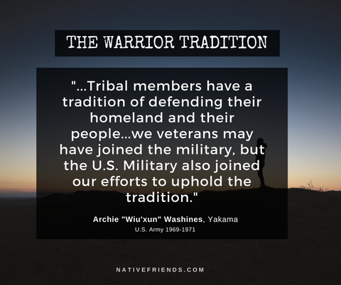 The Warrior Tradition Quote by Archie Washines