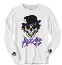 """Day Of The Droog"" Long Sleeve T-Shirt - White"