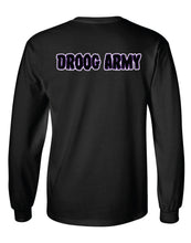 """Day Of The Droog"" Long Sleeve T-Shirt - Black"