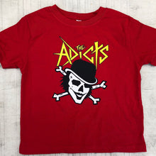 KIDS RED PIRATE TEE
