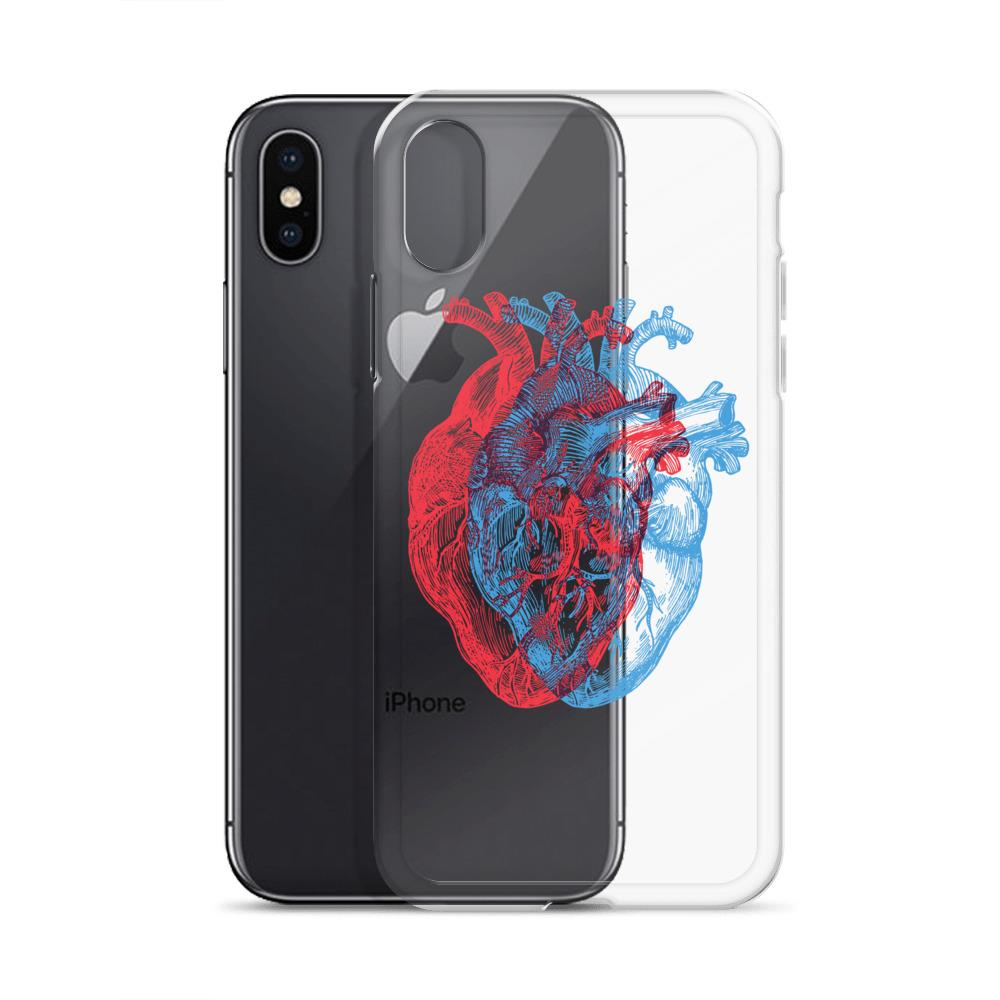 3-Dimensional Heart IPhone Case