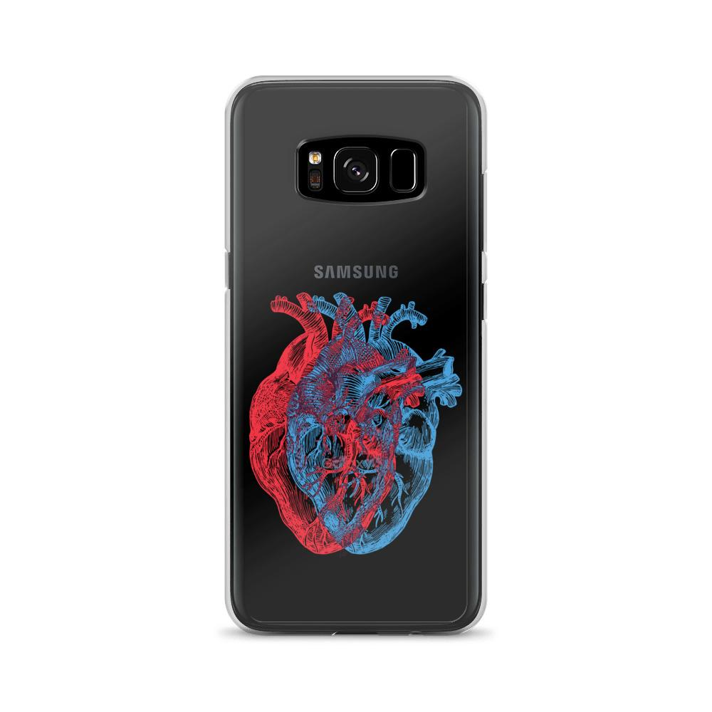 3-Dimensional Heart Samsung Case