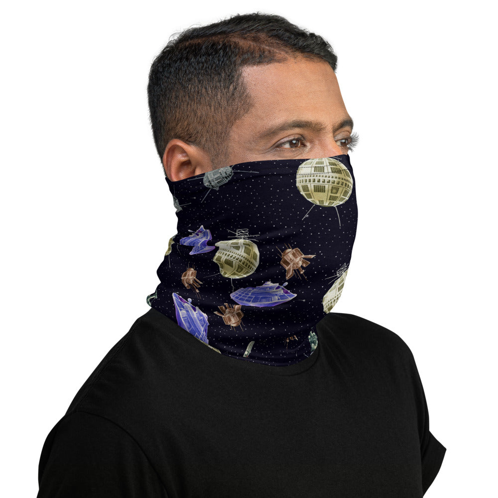 Space Race Neck Gaiter