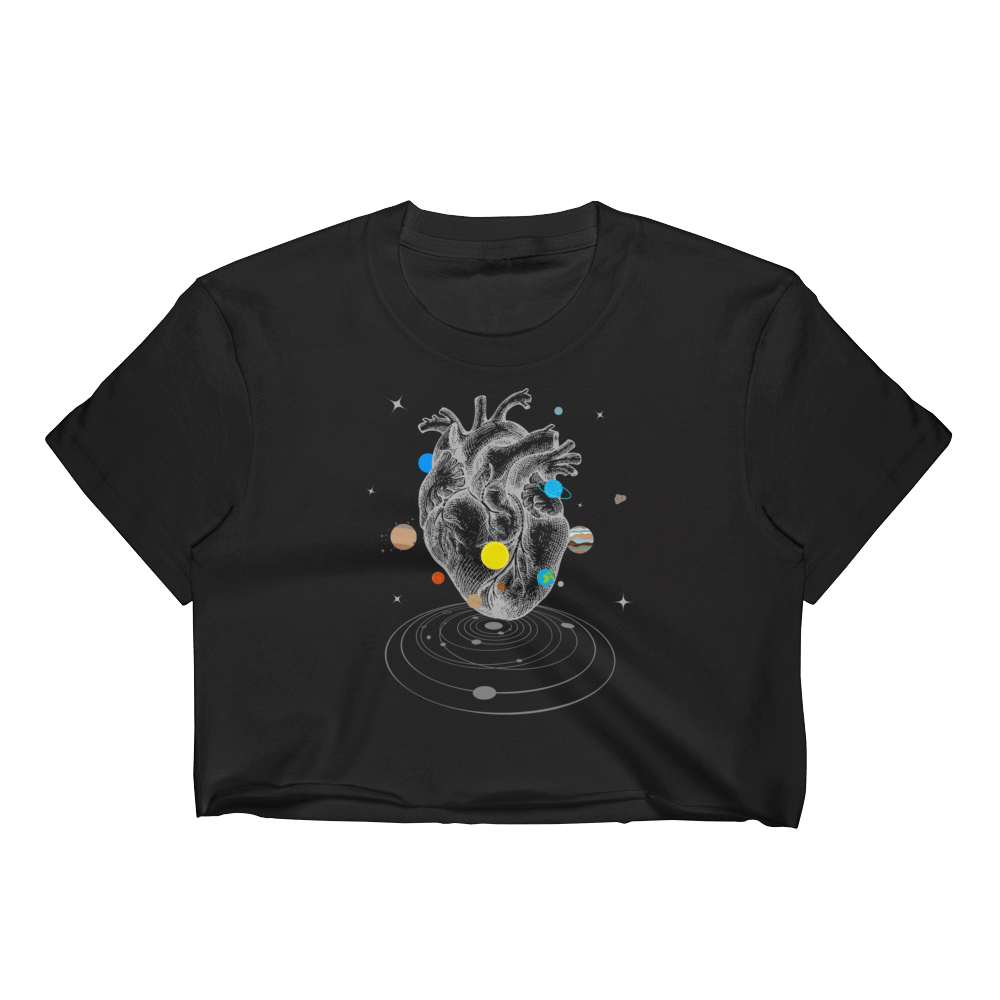 A Universe Within Women's Crop Top