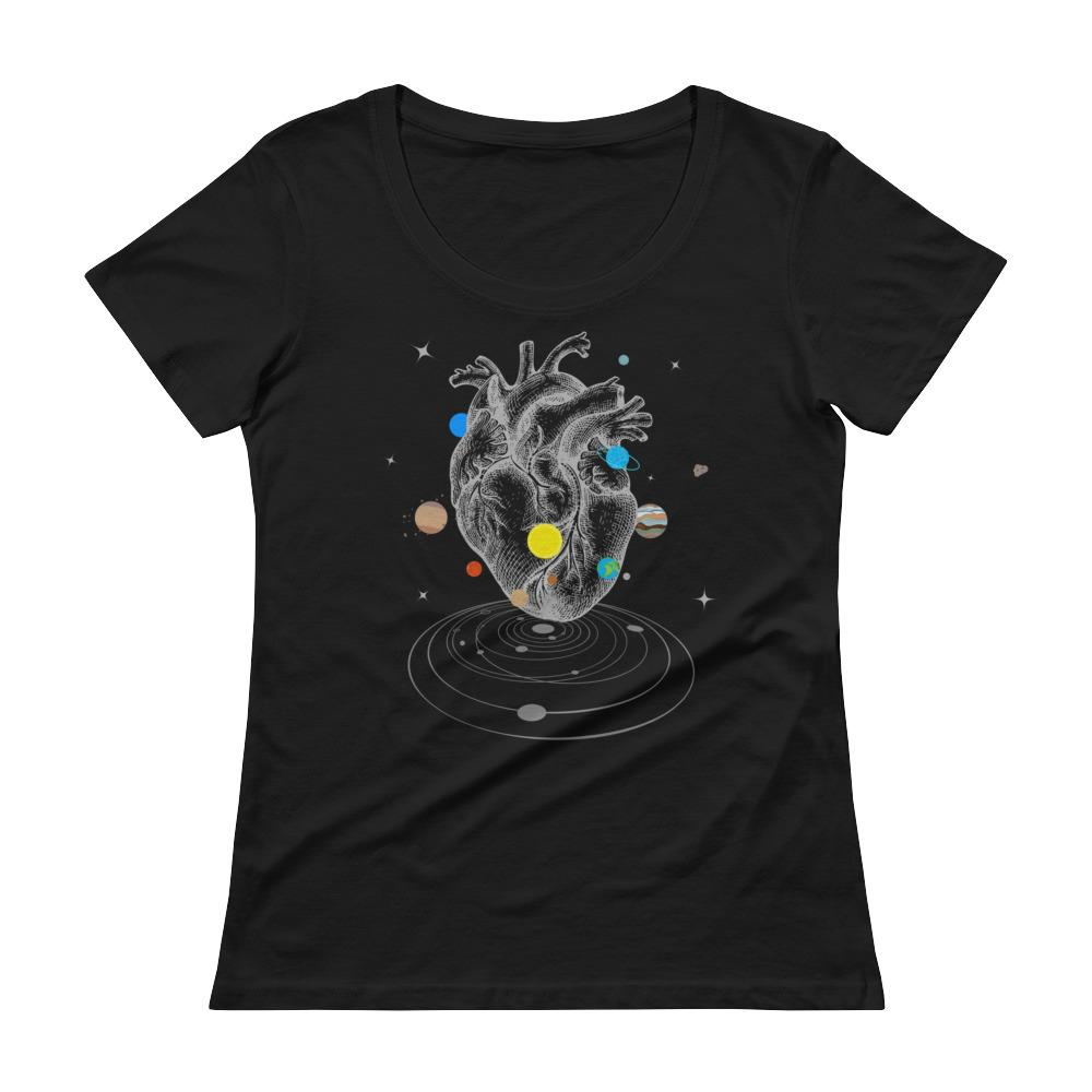 A Universe Within Women's Scoopneck T-Shirt