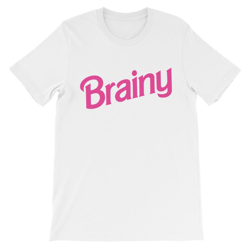 Brainy Unisex Short Sleeve T-Shirt