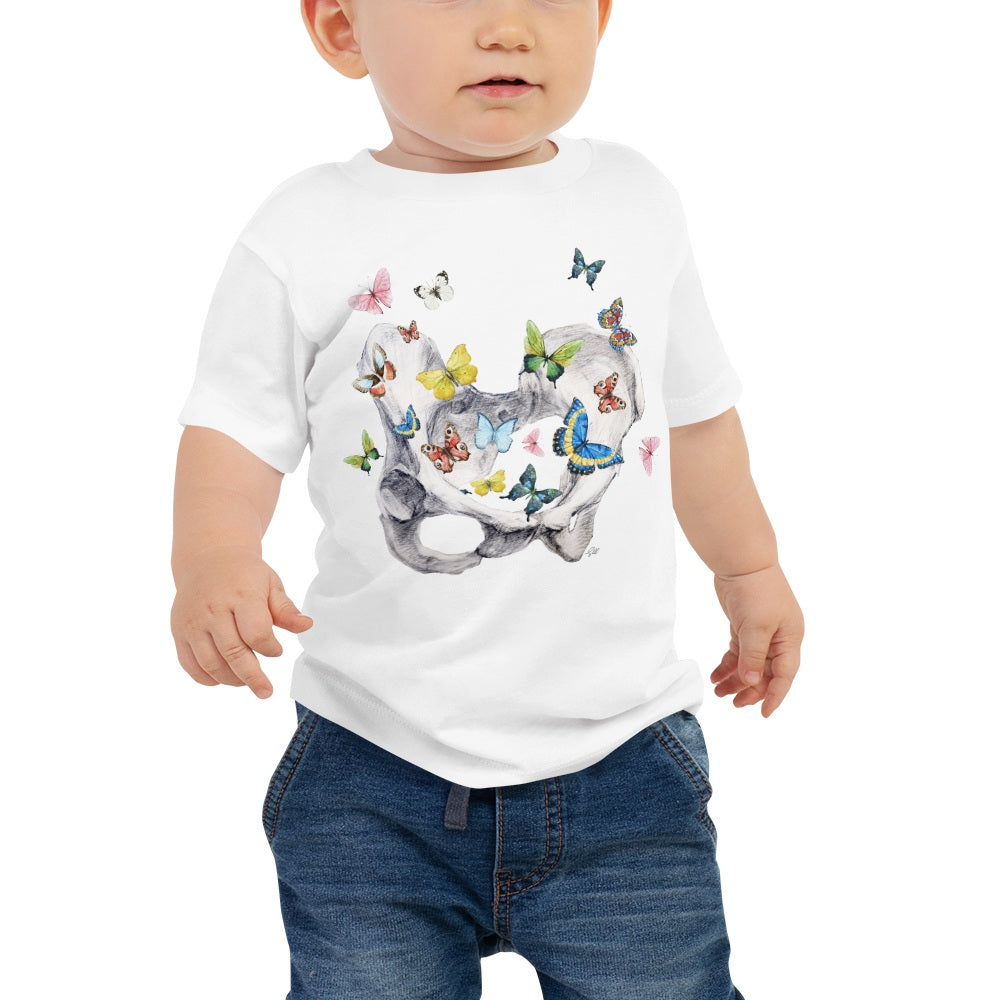 Give Me Butterflies Baby Short Sleeve Tee
