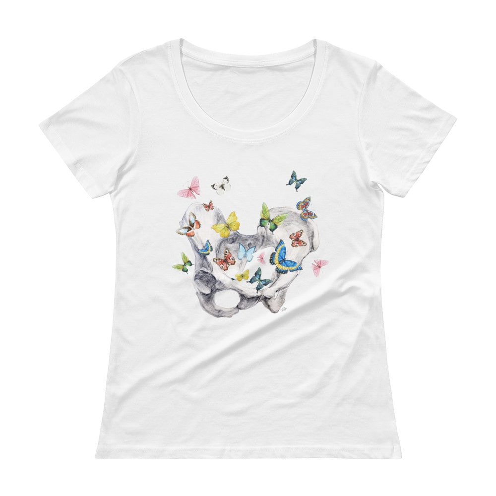 Give Me Butterflies Women's Scoopneck T-Shirt