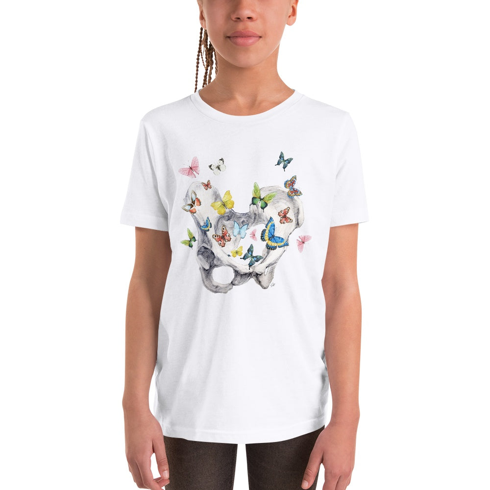 Give Me Butterflies Youth Short Sleeve T-Shirt