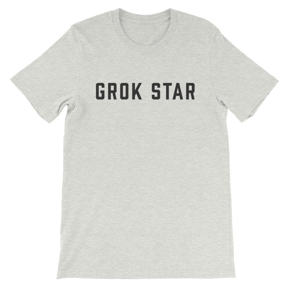 Grok Star Unisex Short Sleeve T-Shirt