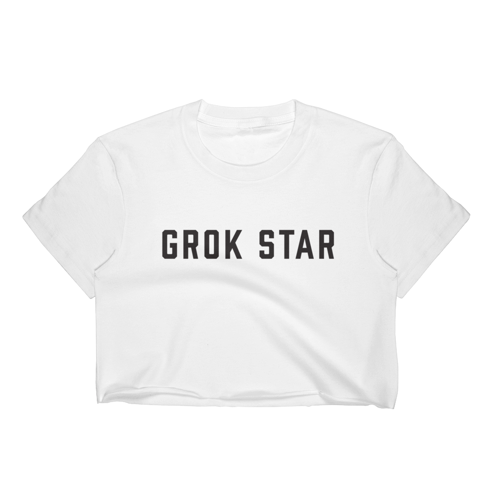 Grok Star Women's Crop Top
