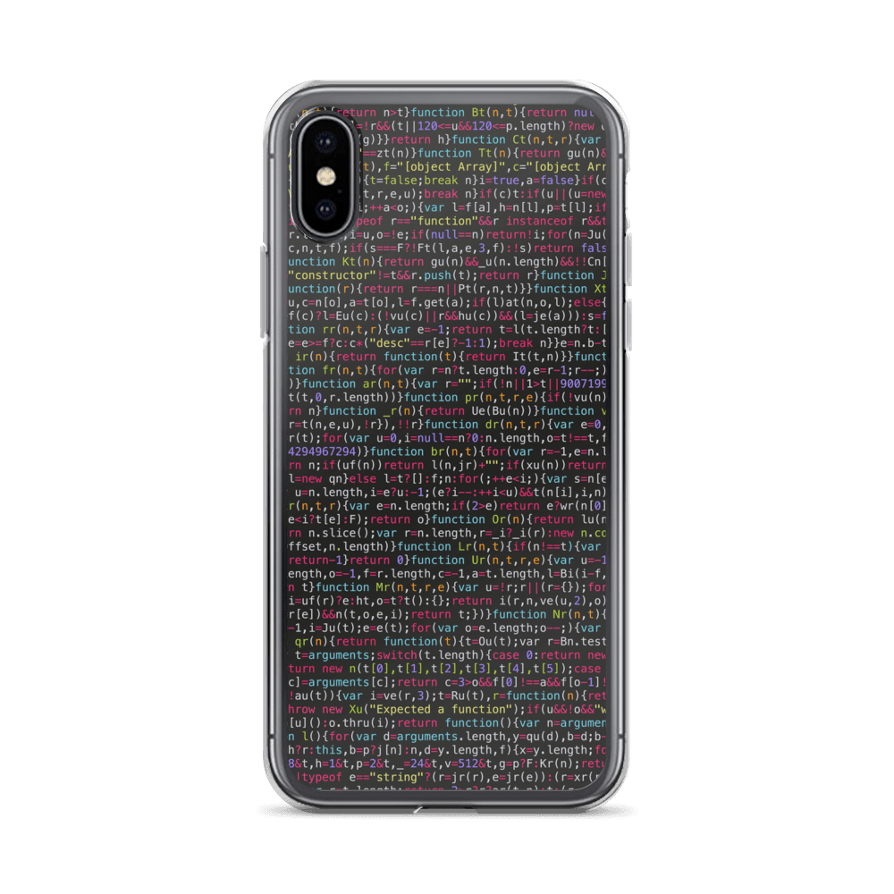 JavaScript IPhone Case