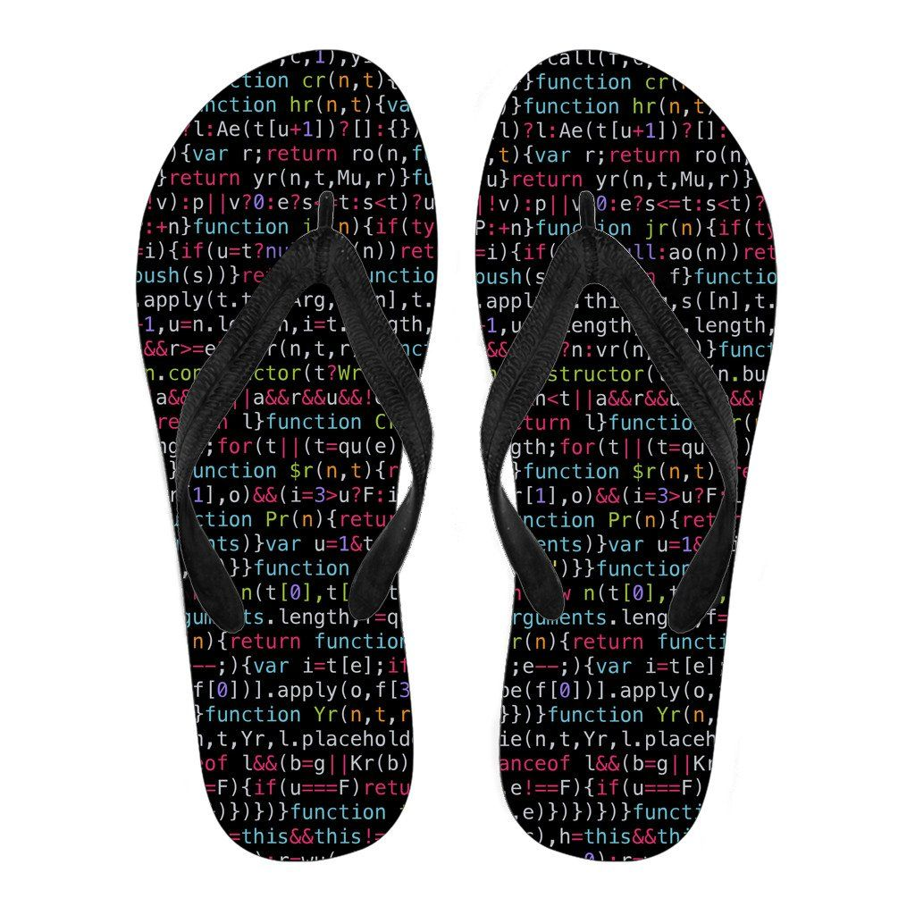 JavaScript Men's Flip Flops