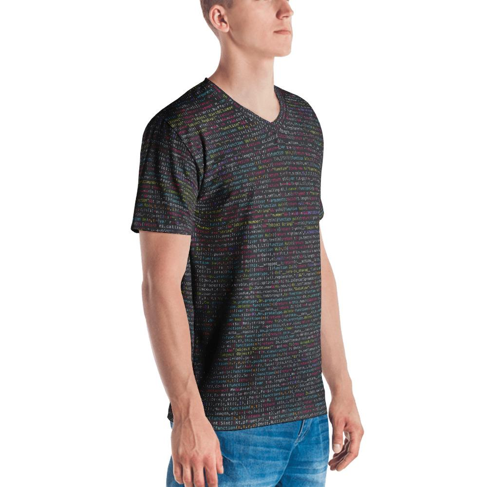 JavaScript Men's V-Neck