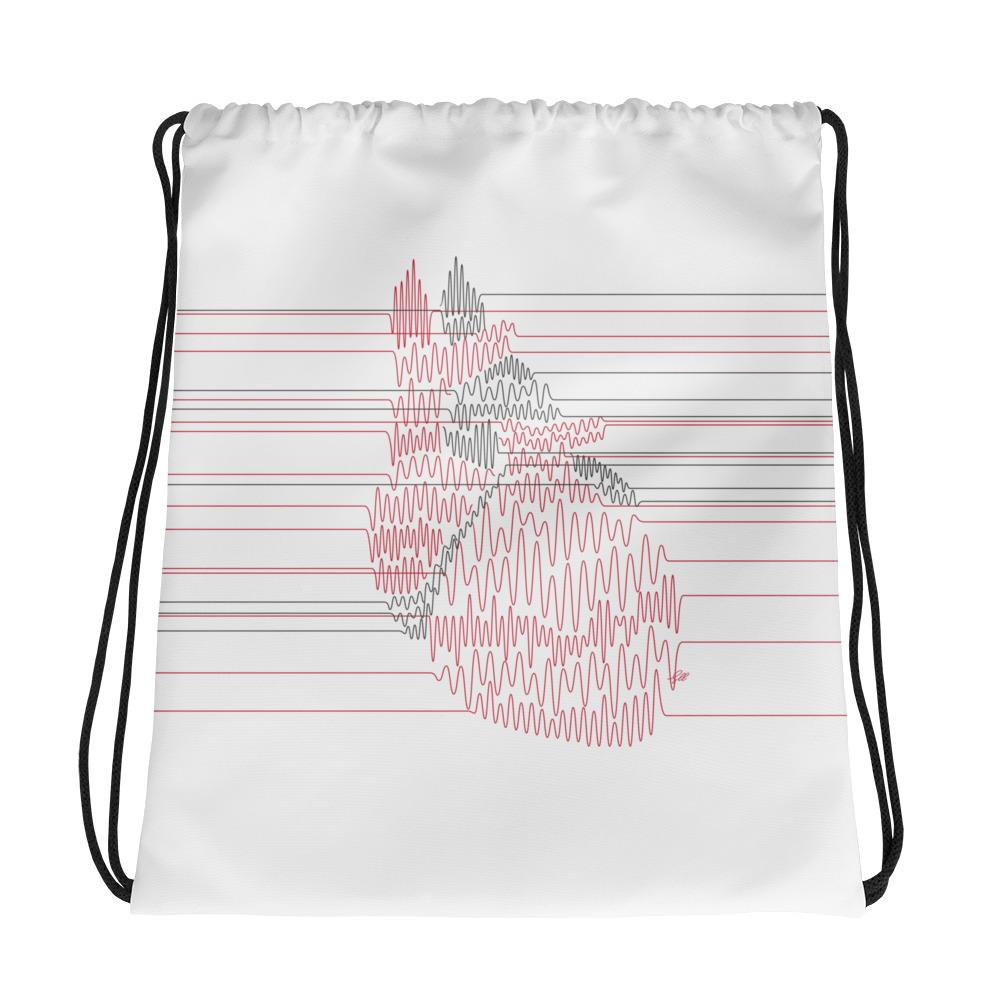 Jumpstart My Heart Drawstring Bag