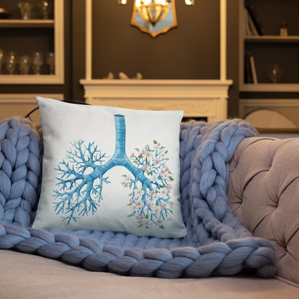 Just Breathe Basic Pillow
