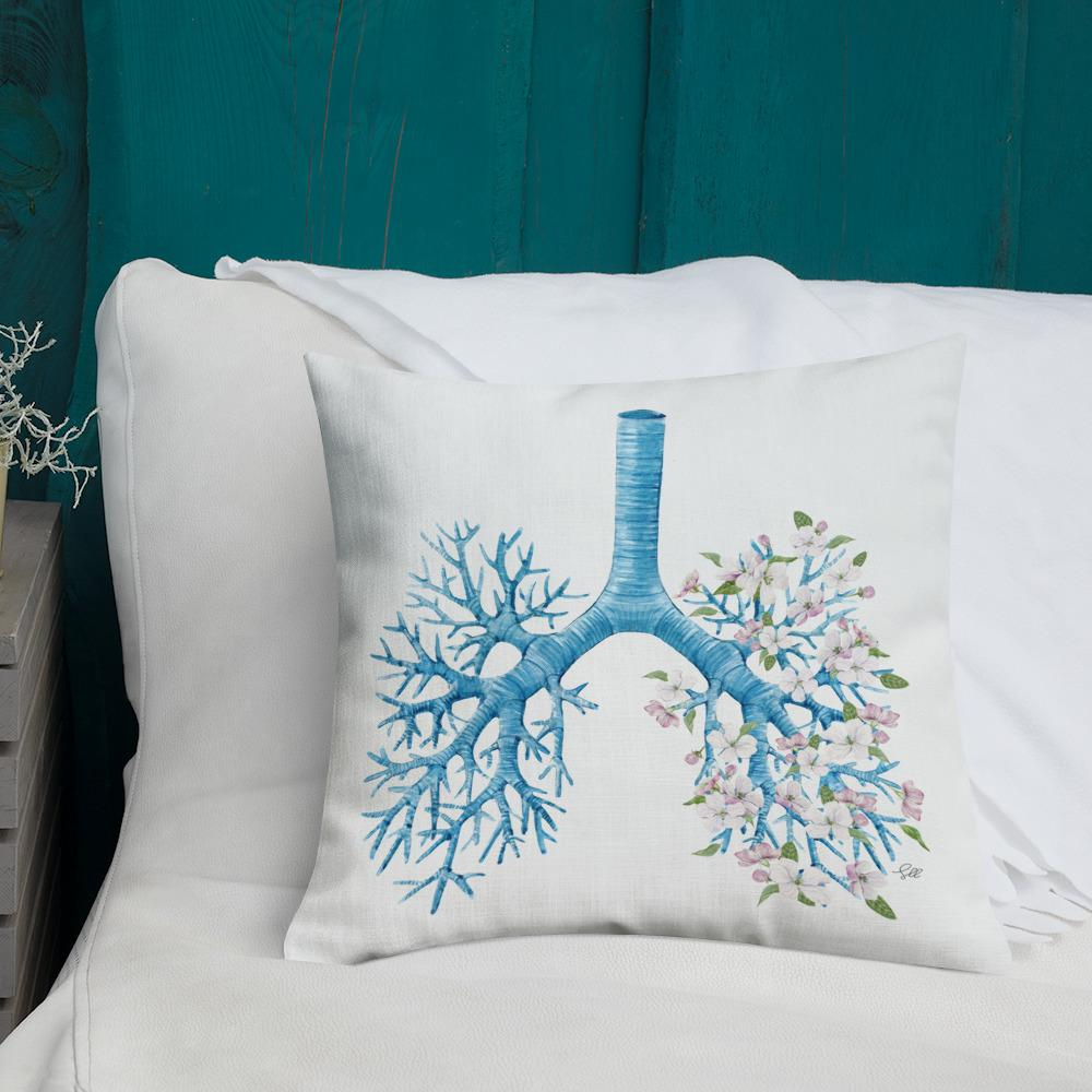Just Breathe Premium Pillow