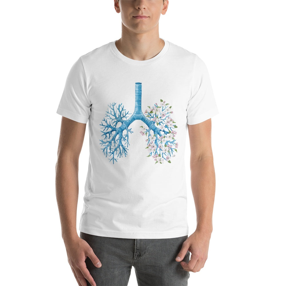 Just Breathe Unisex Short Sleeve T-Shirt