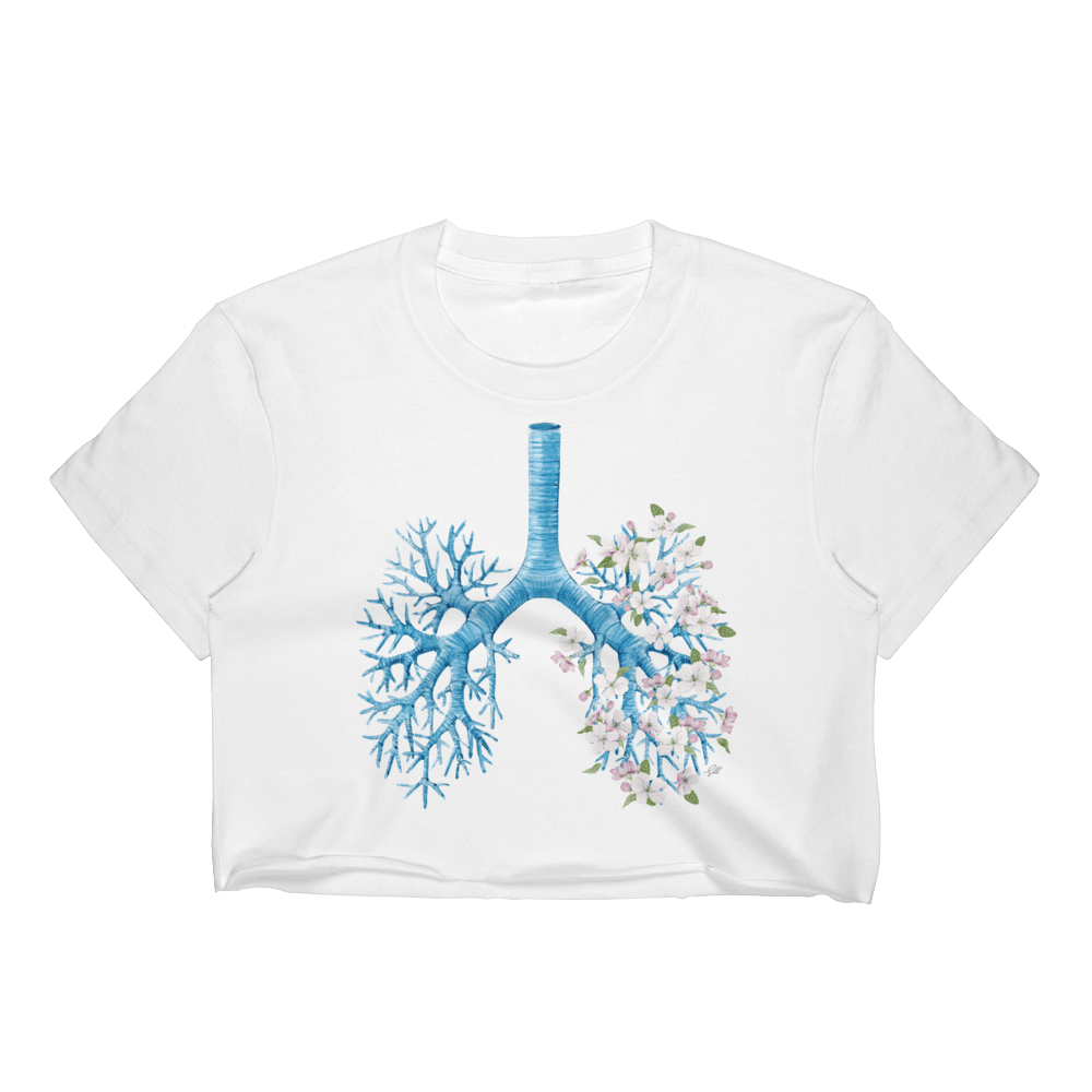 Just Breathe Women's Crop Top