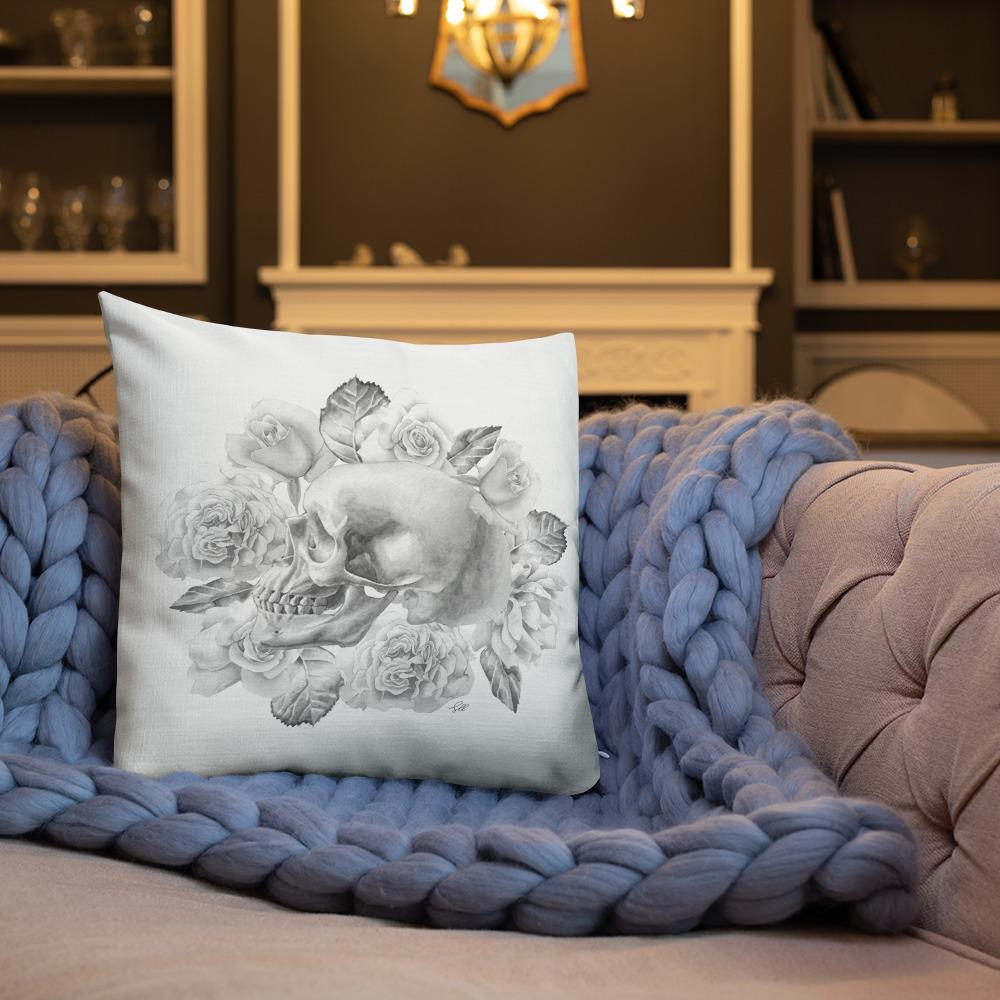 Life And Death Premium Pillow