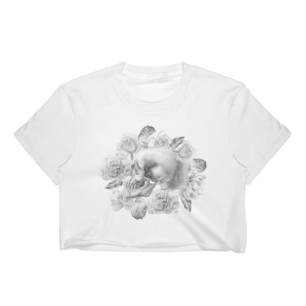 Life And Death Women's Crop Top