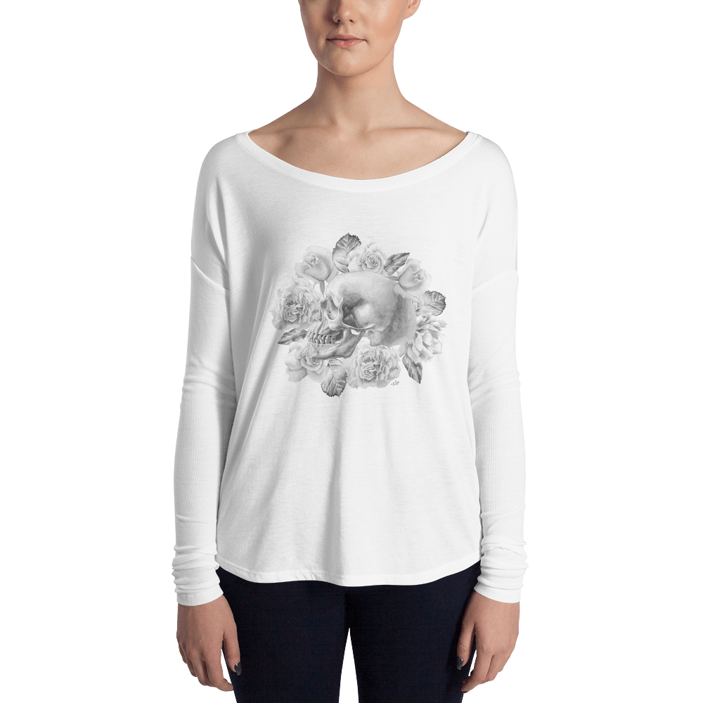Life And Death Women's Long Sleeve Tee