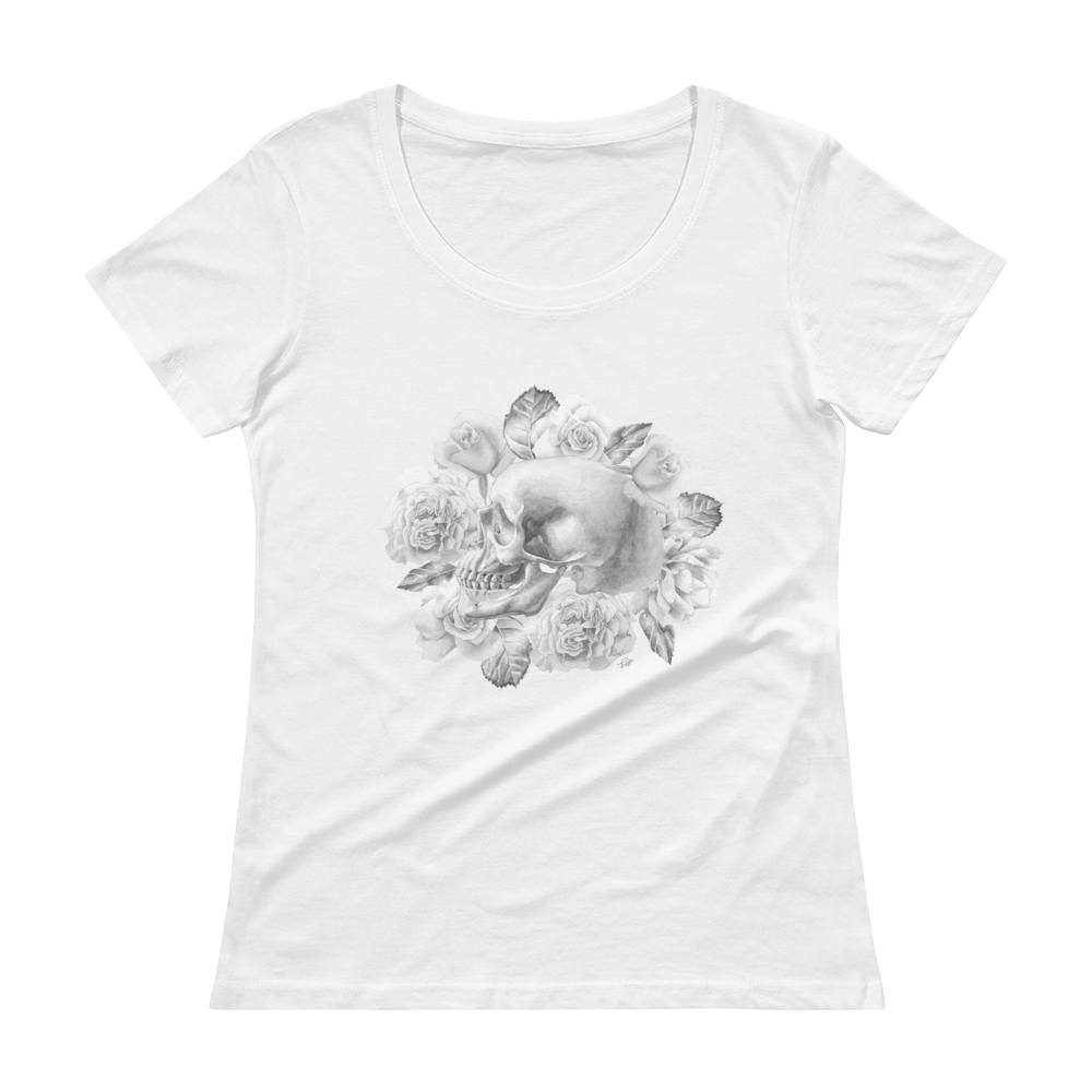 Life And Death Women's Scoopneck T-Shirt