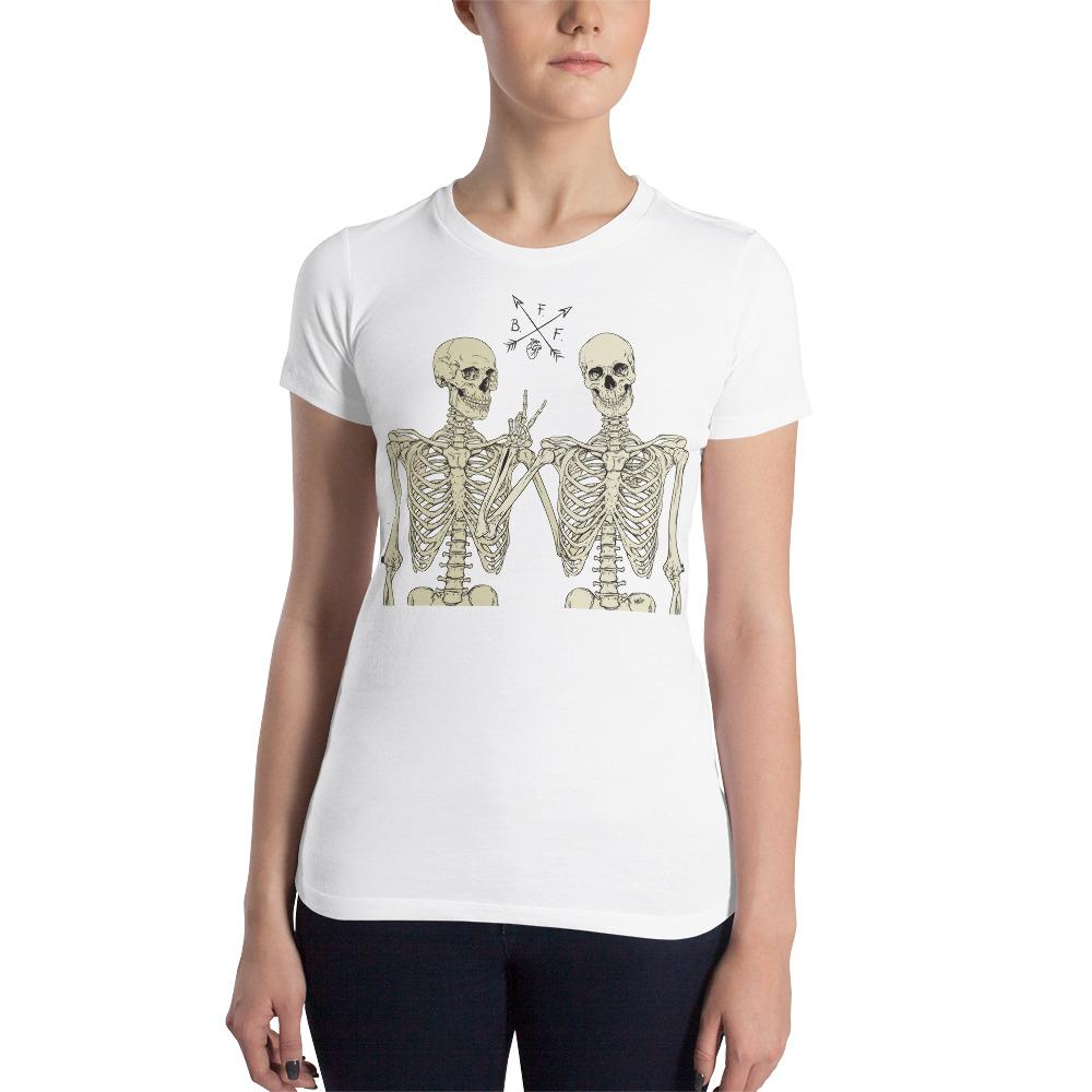 Loyal To The End Women's Slim Fit T-Shirt