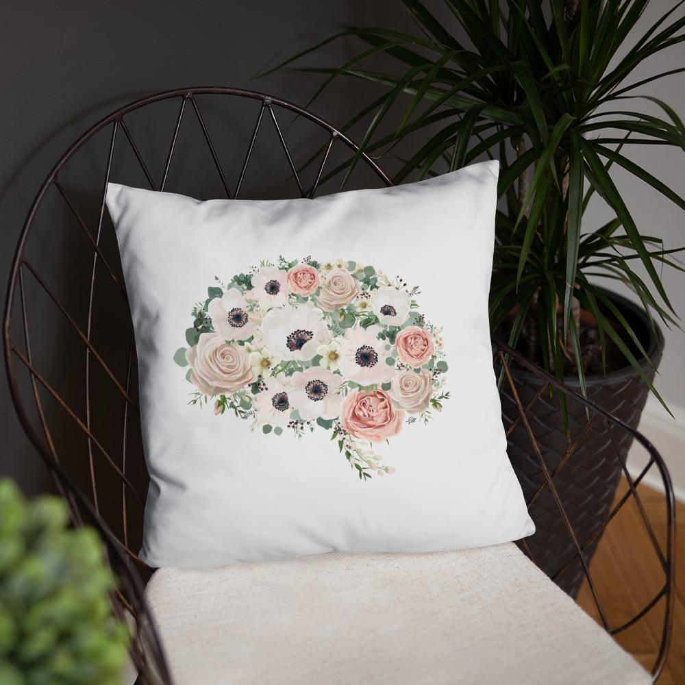 Mind In Bloom Basic Pillow