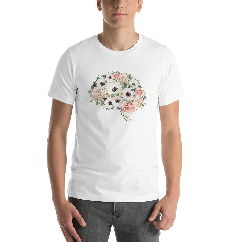 Mind In Bloom Unisex Short Sleeve T-Shirt