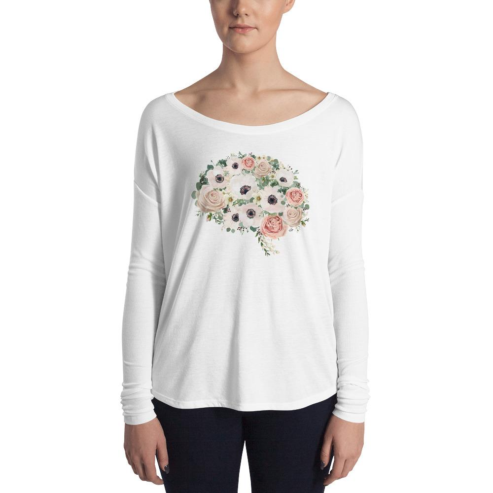 Mind In Bloom Women's Long Sleeve Tee