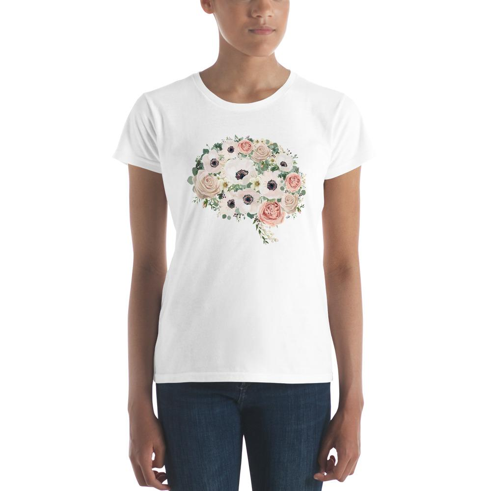 Mind In Bloom Women's Short Sleeve T-Shirt