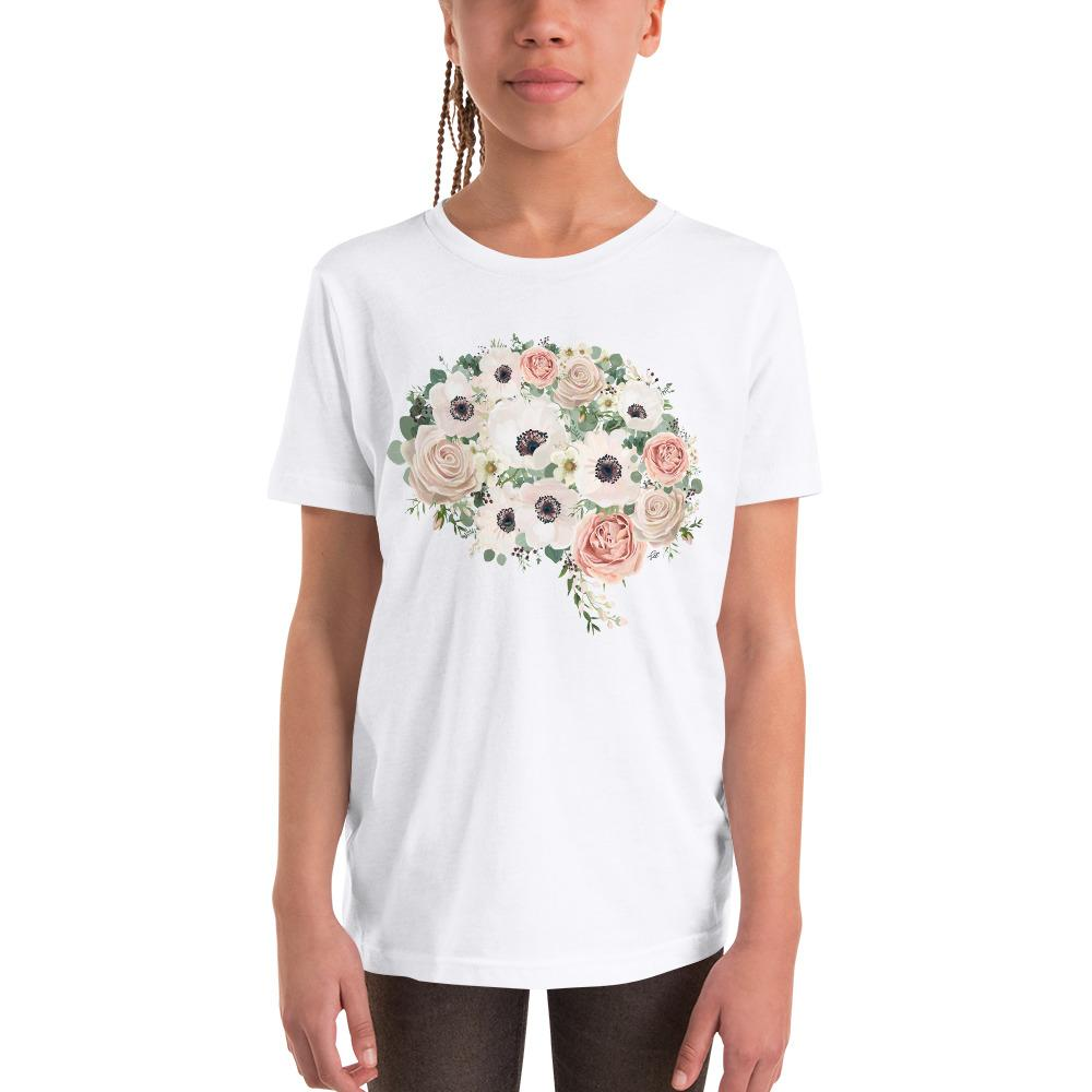 Mind In Bloom Youth Short Sleeve T-Shirt