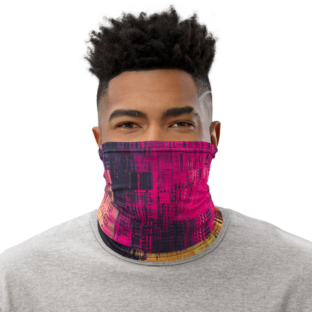 Neon Sunset Neck Gaiter