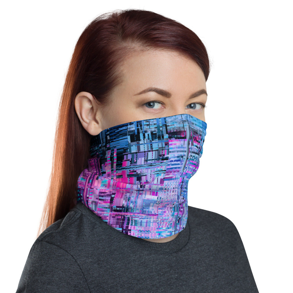 Electric Cupcake Neck Gaiter