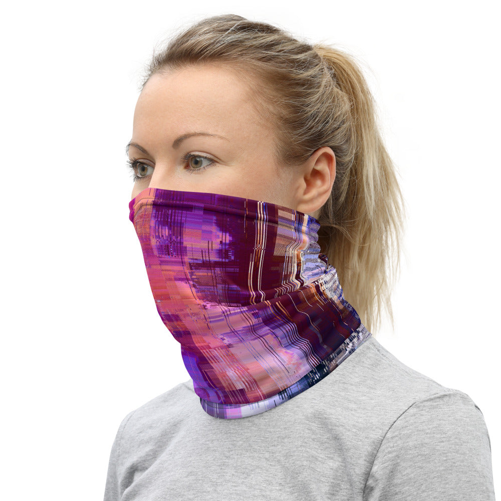 Digital Sunrise Neck Gaiter