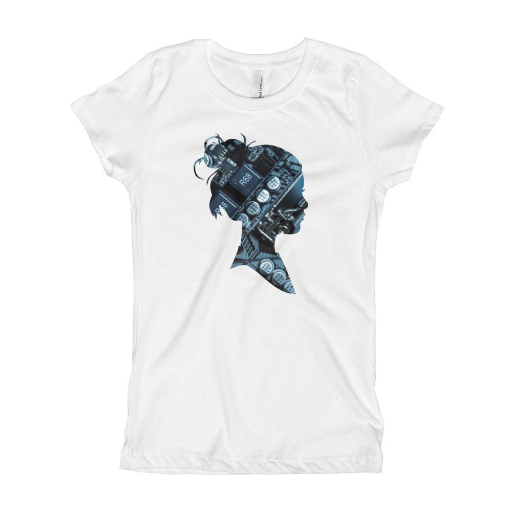 Motherboard Girl Girl's T-Shirt