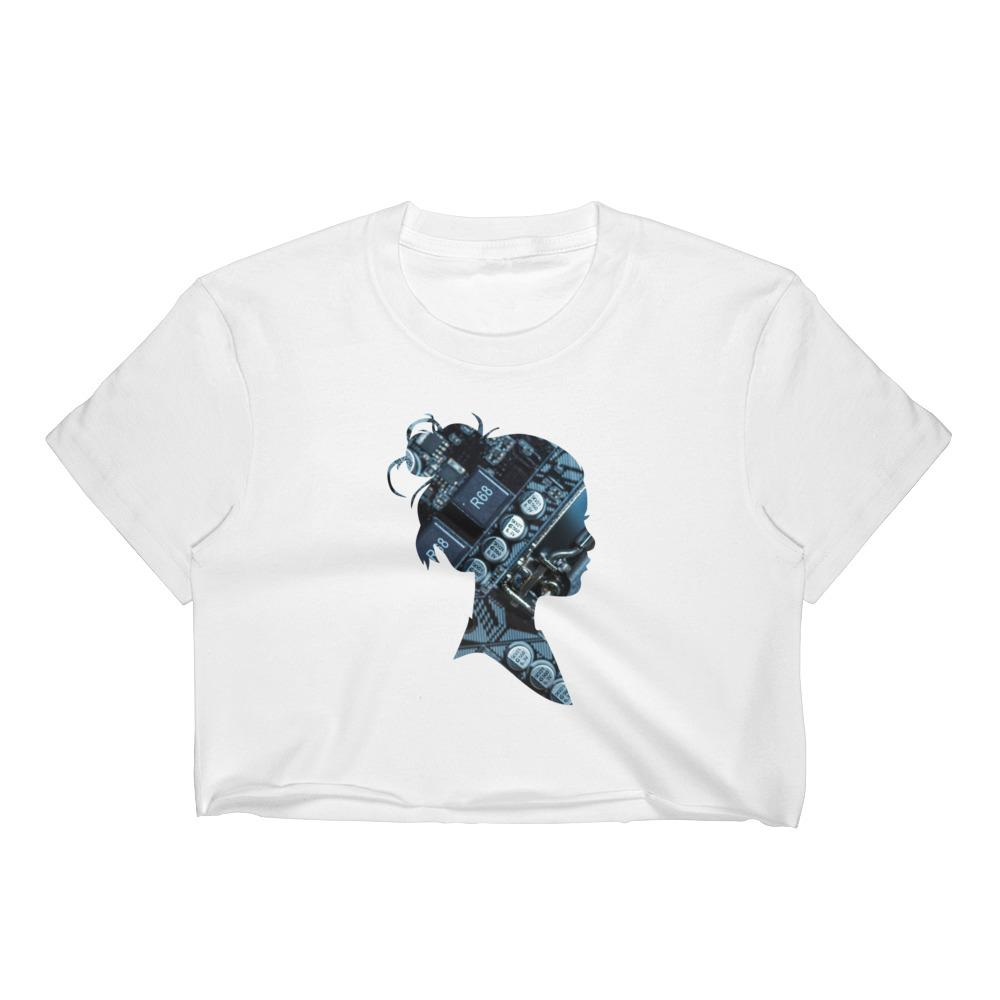 Motherboard Girl Women's Crop Top
