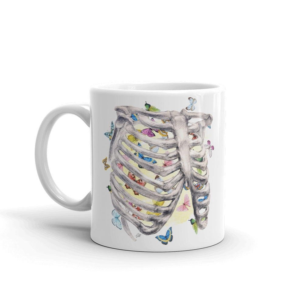 Set My Heart Aflutter Mug