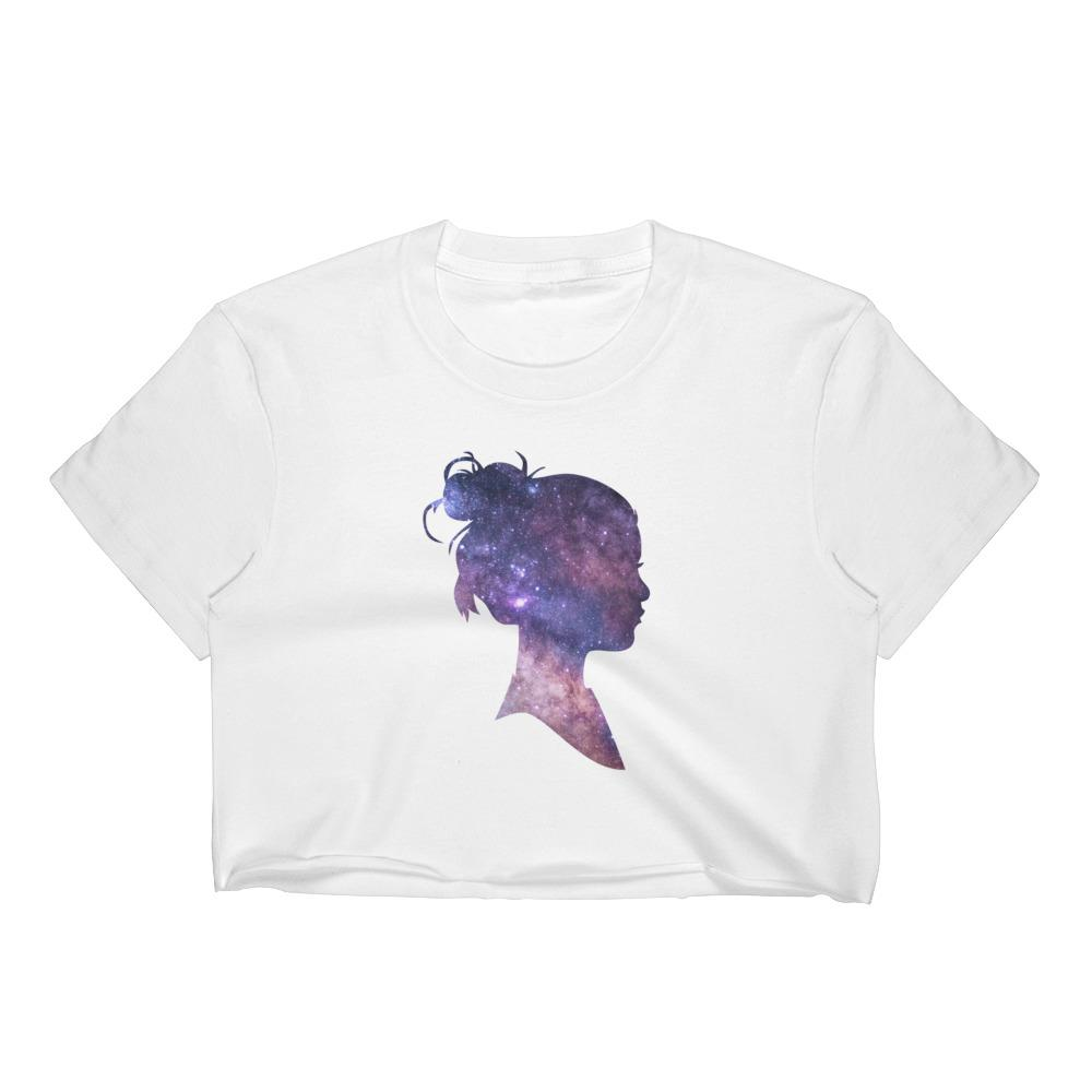 Space Girl Women's Crop Top