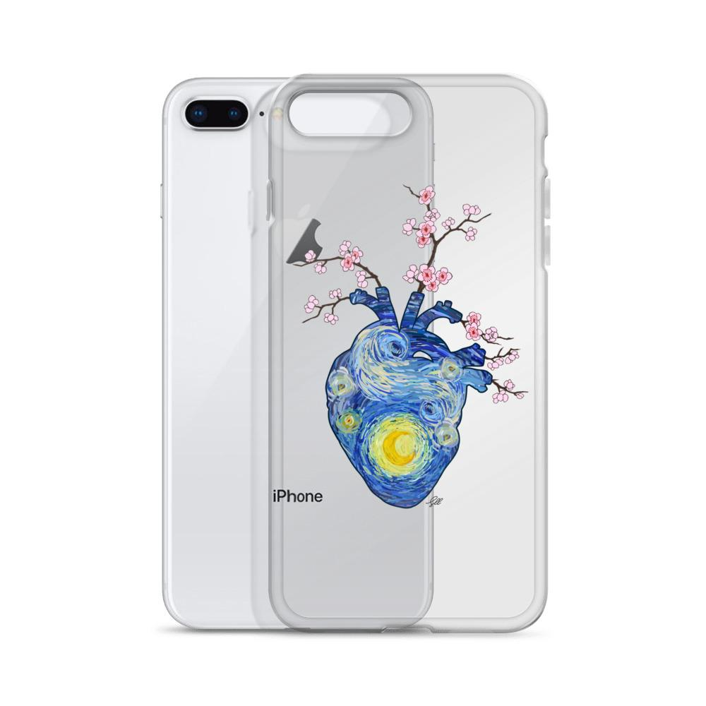 Starry, Starry Heart IPhone Case