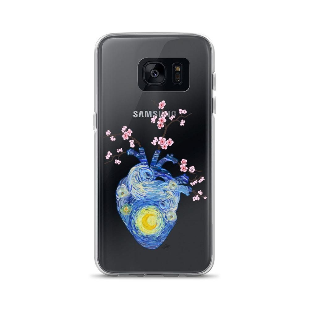 Starry, Starry Heart Samsung Case