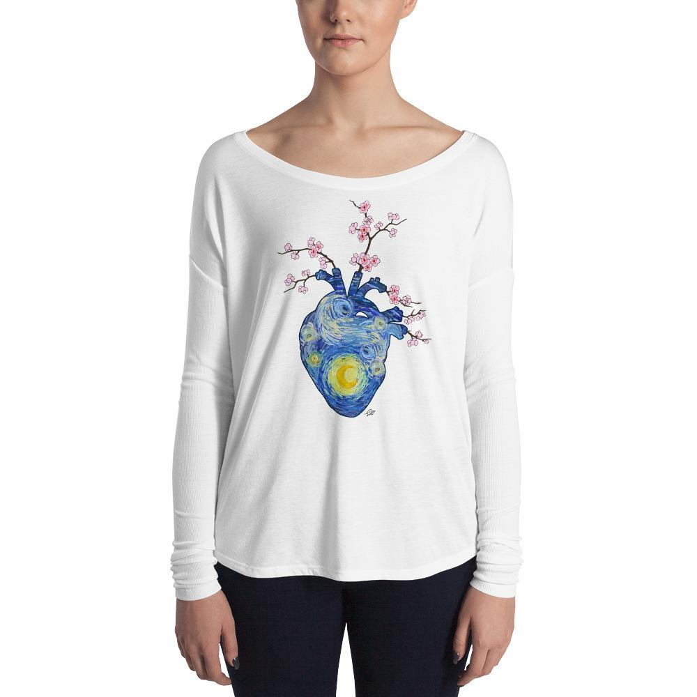 Starry, Starry Heart Women's Long Sleeve Tee