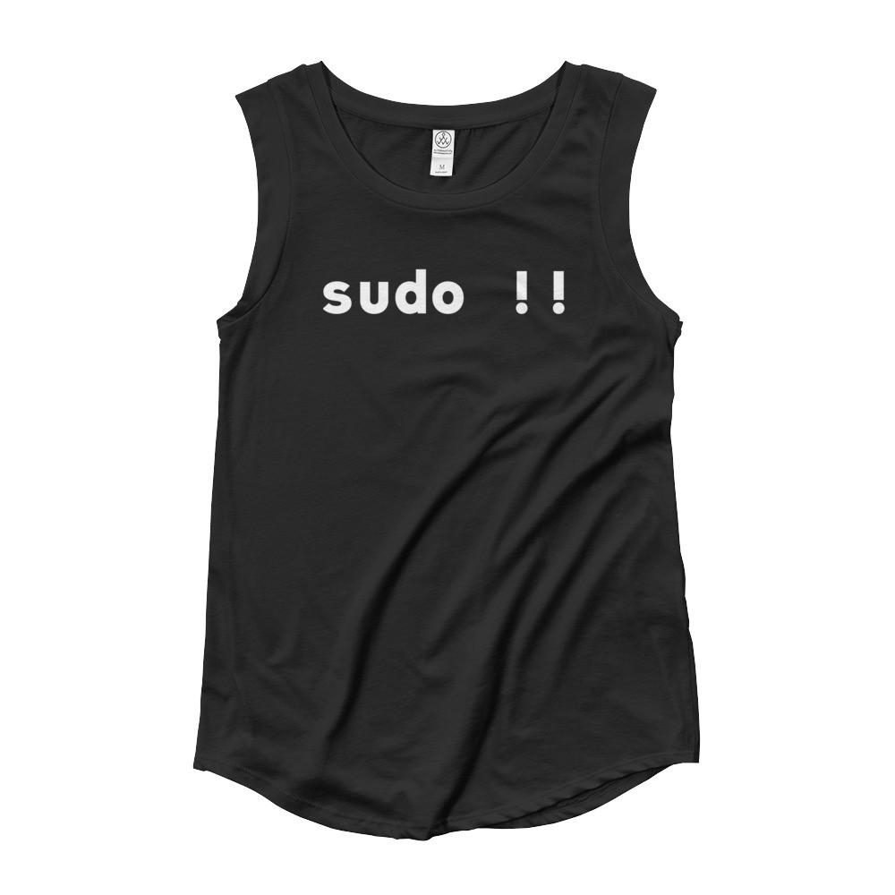 Sudo Bang Bang Women's Cap Sleeve T-Shirt