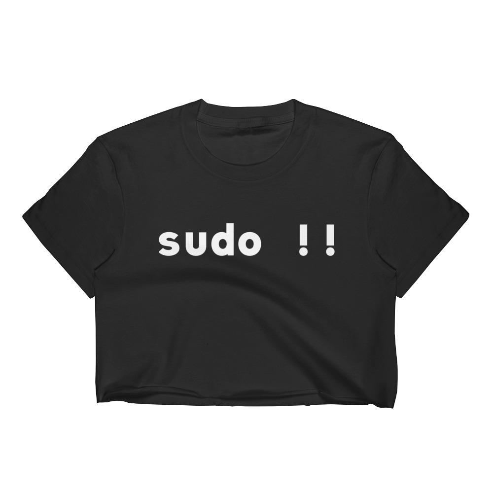 Sudo Bang Bang Women's Crop Top