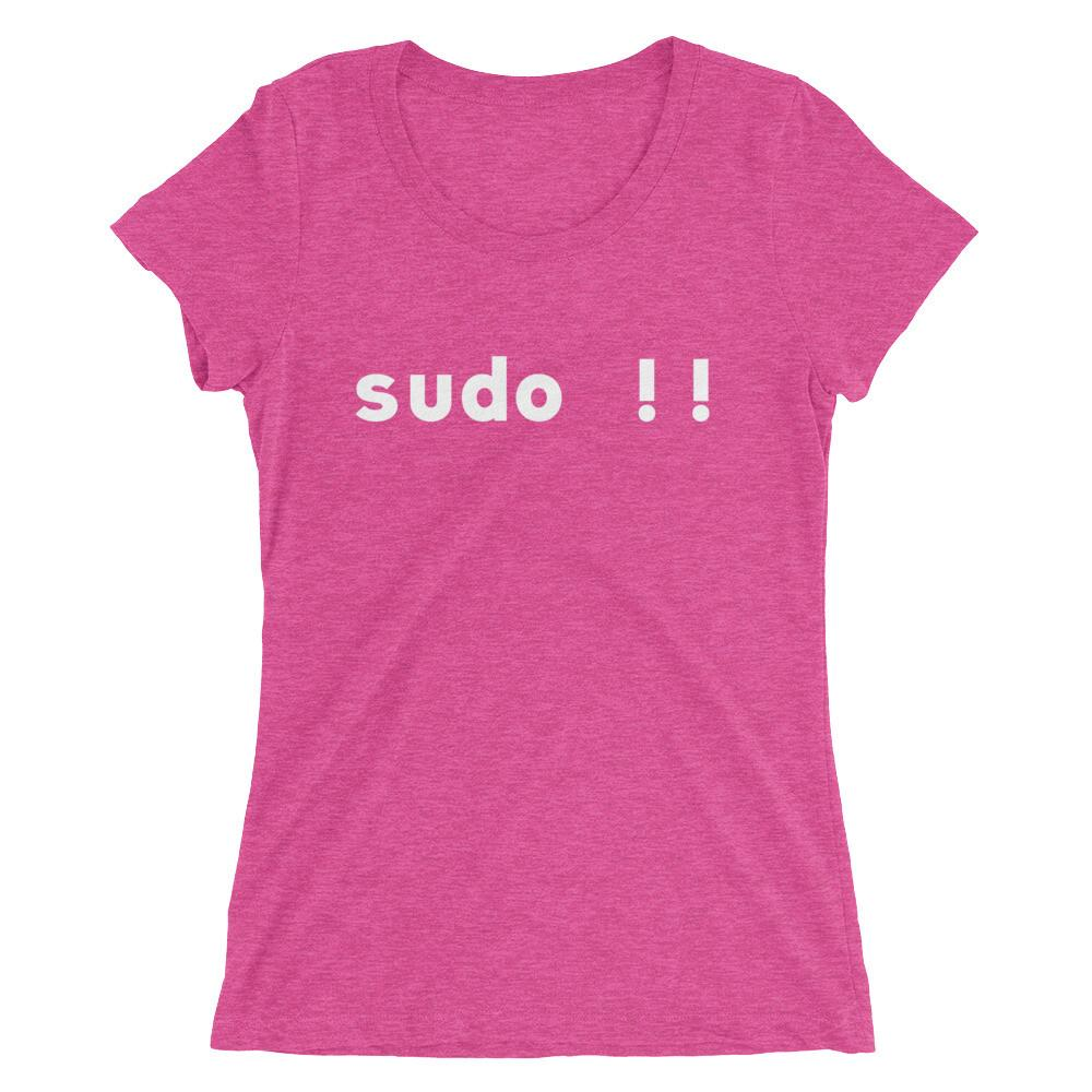 Sudo Bang Bang Women's Tri-Blend T-Shirt